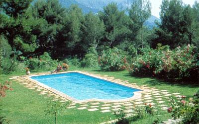 Piscinas depositos agua fossas septicas em poliester for Plantas para poner cerca de la piscina