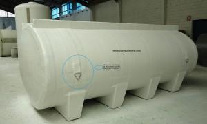 Cisterna con amarres - Plarex