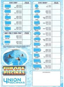 Catálogo Piscinas Europa